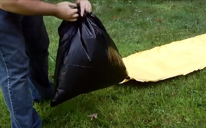 How To Inflate Air Mattress With Garbage Bag