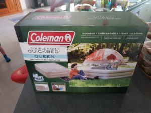 Camping air mattress vs cot