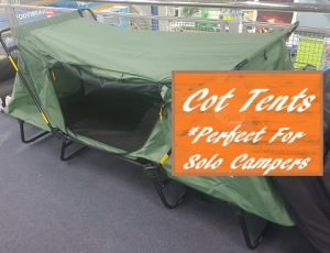 Tent Cots For Camping Solo