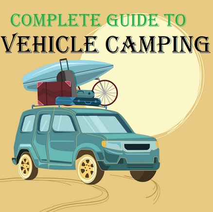 How To Camp In Your Truck car suv minivan