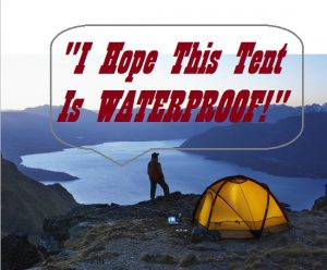 Are all Tents Waterproof