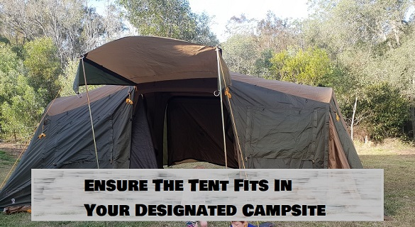 How Big Is A three Room Tent