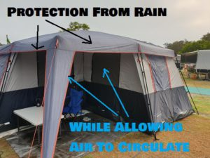 Best Tents For Ventilation When Raining