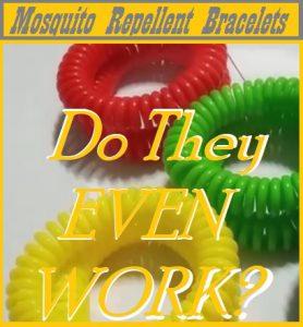 How Do Mosquito Repellent Bracelets Work