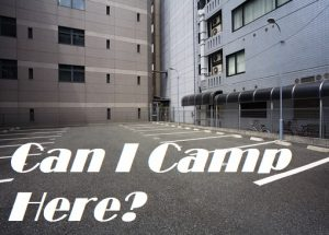 Where Should You Park Your Car When Camping