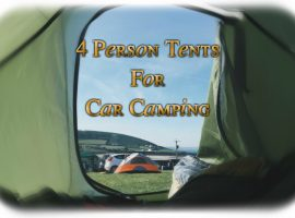 Best 4 Person Tents For Car C&ing & Best 4 Season Canvas 4 Person Tent | Sleeping With Air
