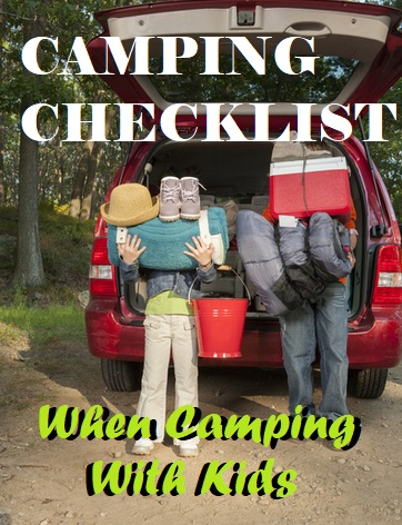 What To Bring When Camping With Kids