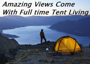How To Live In A Tent For 6 Months