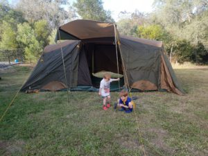 Full Time Camping Tent Locations