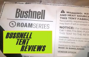 The Bushnell Tents Reviews
