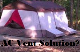 Ways To Use AC In Tent