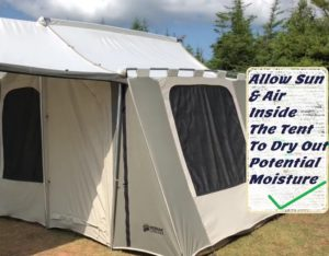 Are Canvas Tents Good For Summer Camping
