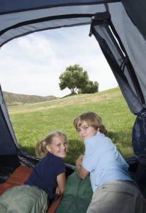 Camping In Summer Fun
