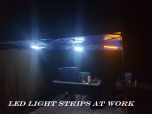 Camping LED Light Strips For Tent