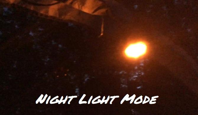 Coleman Elite Wether Master Nightlight Demo