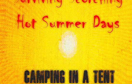 How To Keep A Tent Cool In Summer