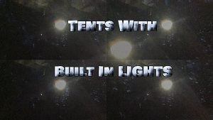 Tents With Built In Lights LED