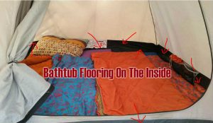 What Are bathtub floors Made From