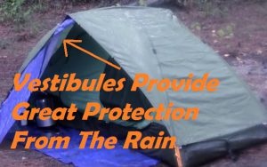 What Is A Tent Vestibule