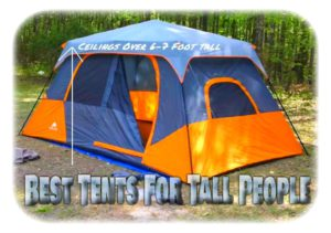 in stock 5a884 08ad9 Best Tents For Tall People You Can Stand Up In | Sleeping ...