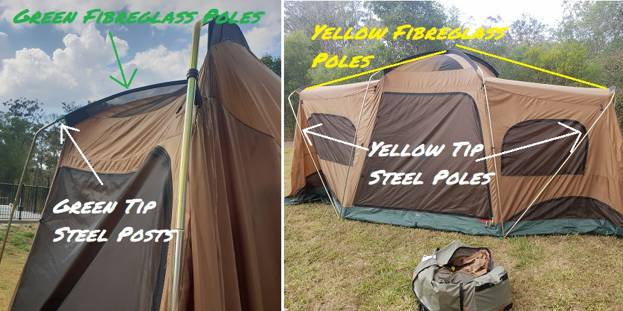 Assembly Of The Montana CV Gold Deluxe Tent