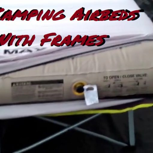 Best Camping Air Mattress With Frame