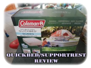 Coleman Double High Supportrest Review