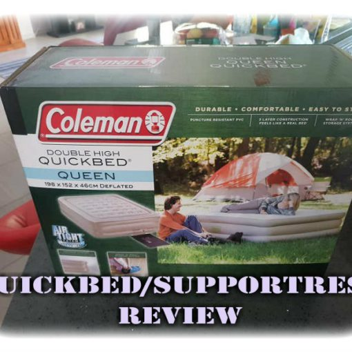 Coleman Queen Double High Supportrest Review