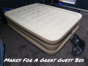 Coleman SupportRest Used As Guest Bed