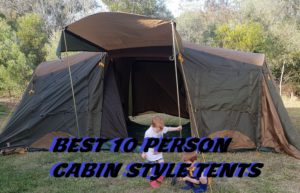 Best 10 Person Cabin Tents