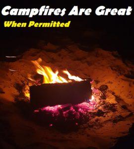 Campfire Camping Tips
