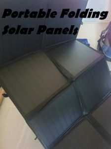 Portable Solar Power Panel