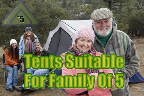 Best Tents For A Family Of 5 (To Camp Comfortably