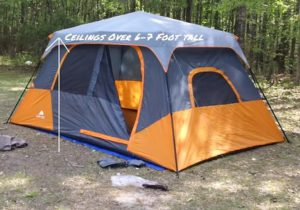Tent for 2 adults 3 kids