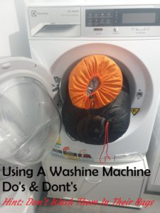 Can You Wash Sleeping Bags In Washing Machine