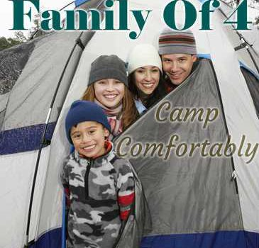 Best Tents For A Family Of 4