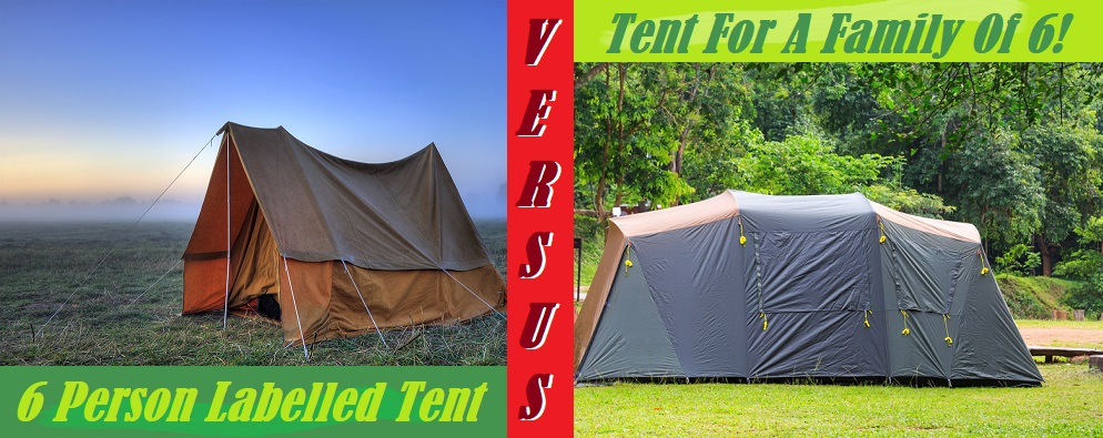 What Size Tent Do 6 People Need