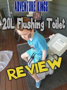 Adventure kings 20L Portable Toilet Review