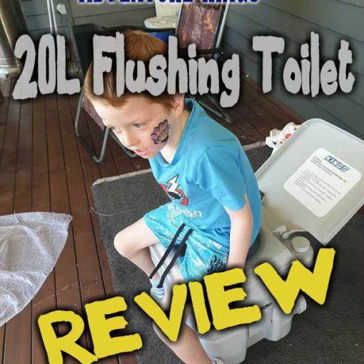 Adventure kings 20L Portable Toilet Review