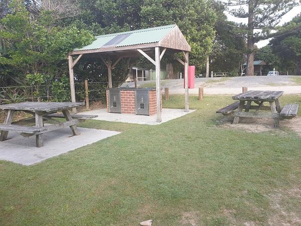 Facilities BBQ Sandon River Camp Sites