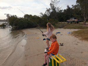Fishing At Sandon River NSW