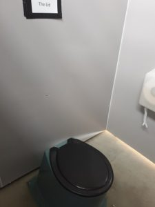 Toilets At Sandon River Campgrounds
