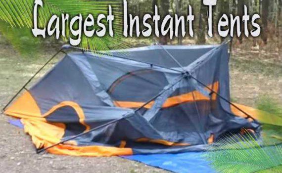 Best Large Instant Tents