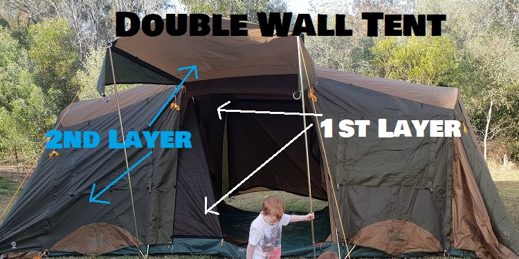 Example Of Double Wall Tent Meaning