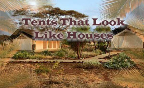 Tents That Look Like Houses