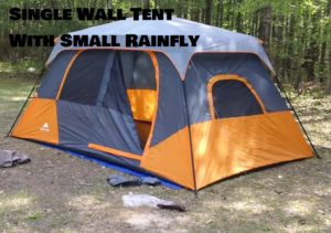 What Is A Single Wall Tent