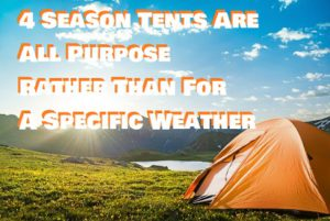 All Purpose Camping Tents