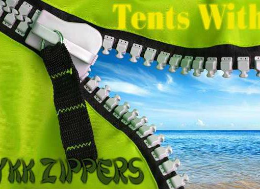 Tents With YKK Zippers