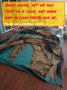 How To Prevent Mold On Canvas Tent
