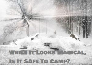 Safe Camping Tips In Winter